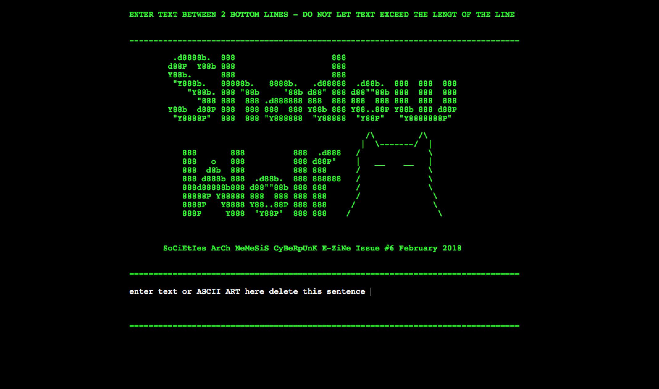 Shadow Wolf Cyberzine Workshop Seminar